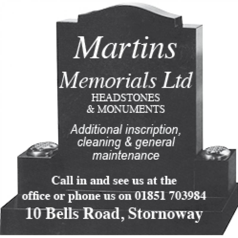 Martins Memorials