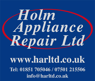 Holm Appliance repairs