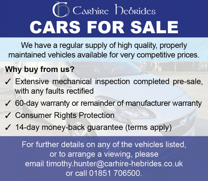 Carhire hebrides Cars for Sale