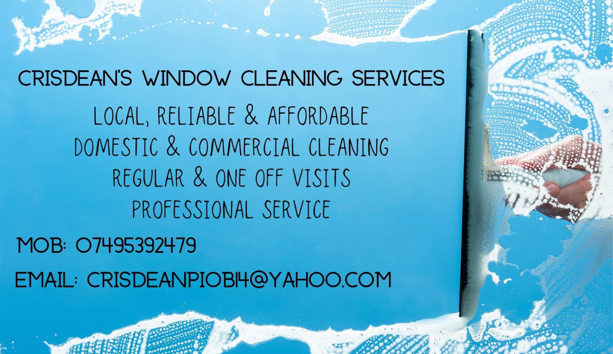 Crisdeans window cleaning services