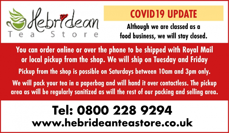 Hebridean Tea Shop