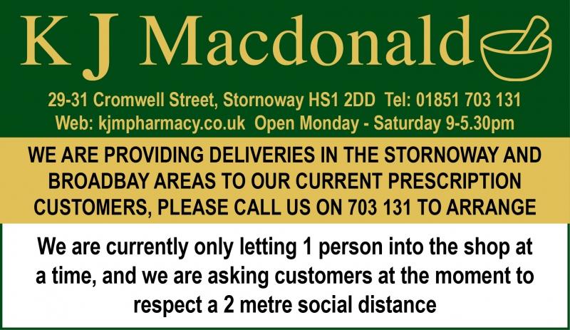 KJ Macdonalds