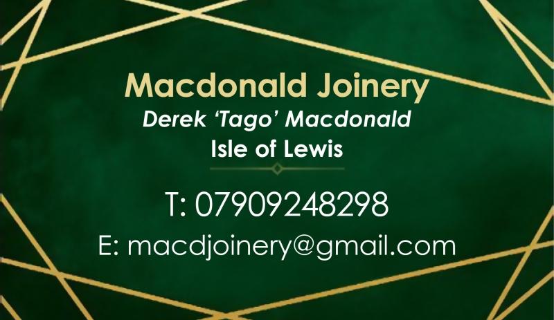 Macdonald Joinery